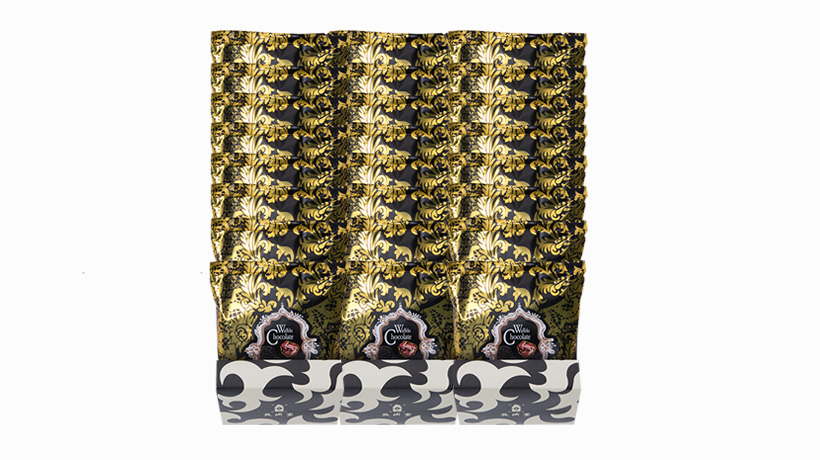 【送料無料】チョコレートヴァッフェル(8枚入)×3箱セット