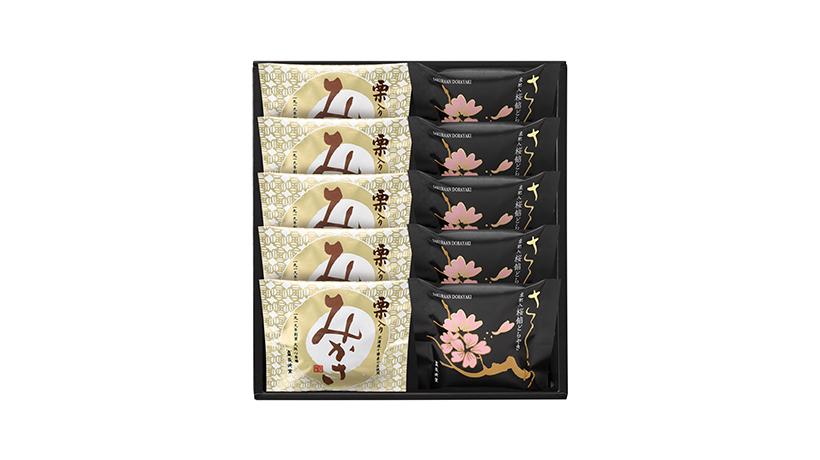 桜餡どらやき・栗入りみかさ 10個詰め合わせ